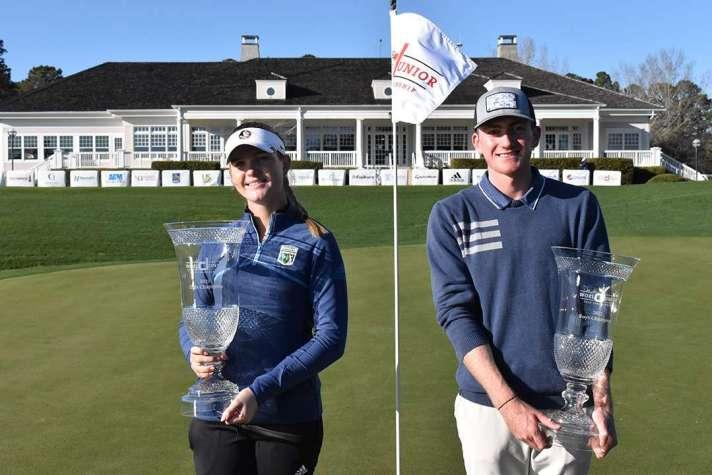 Dunlap, Putrino Rally To Win Dustin Johnson World Junior Golf Championship