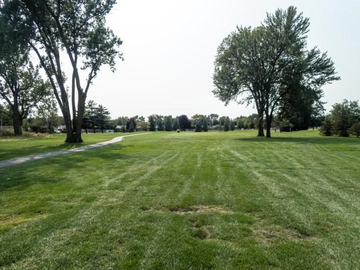 Westland Municipal Golf Course Review third hole