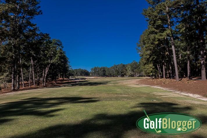 Pinehurst No. 2 Review fifth hole