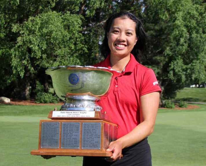 Midland's Kimberly Dinh Wins 105th Michigan Women's Amateur