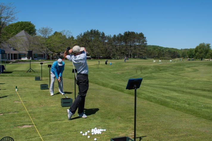 Trackman Comes To Boyne Golf In Northern Michigan - Range players