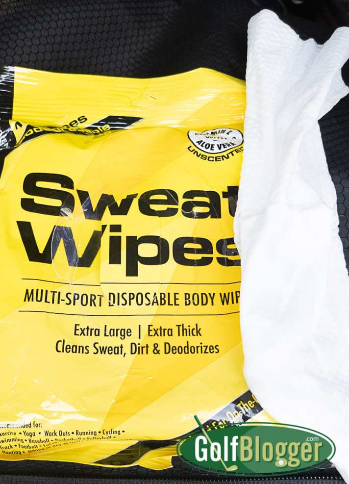 SweatZone Sweat Wipes Review