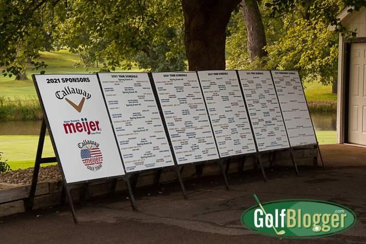 Callaway/Meijer Junior Tour scoreboard