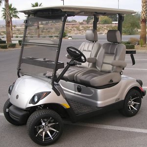 Yamaha PTV AC Drive 48 Volt Electric Golf Cart