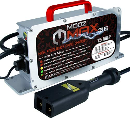 Modz Max36 15 Amp Ezgo Txt Battery Charger For 36 Volt