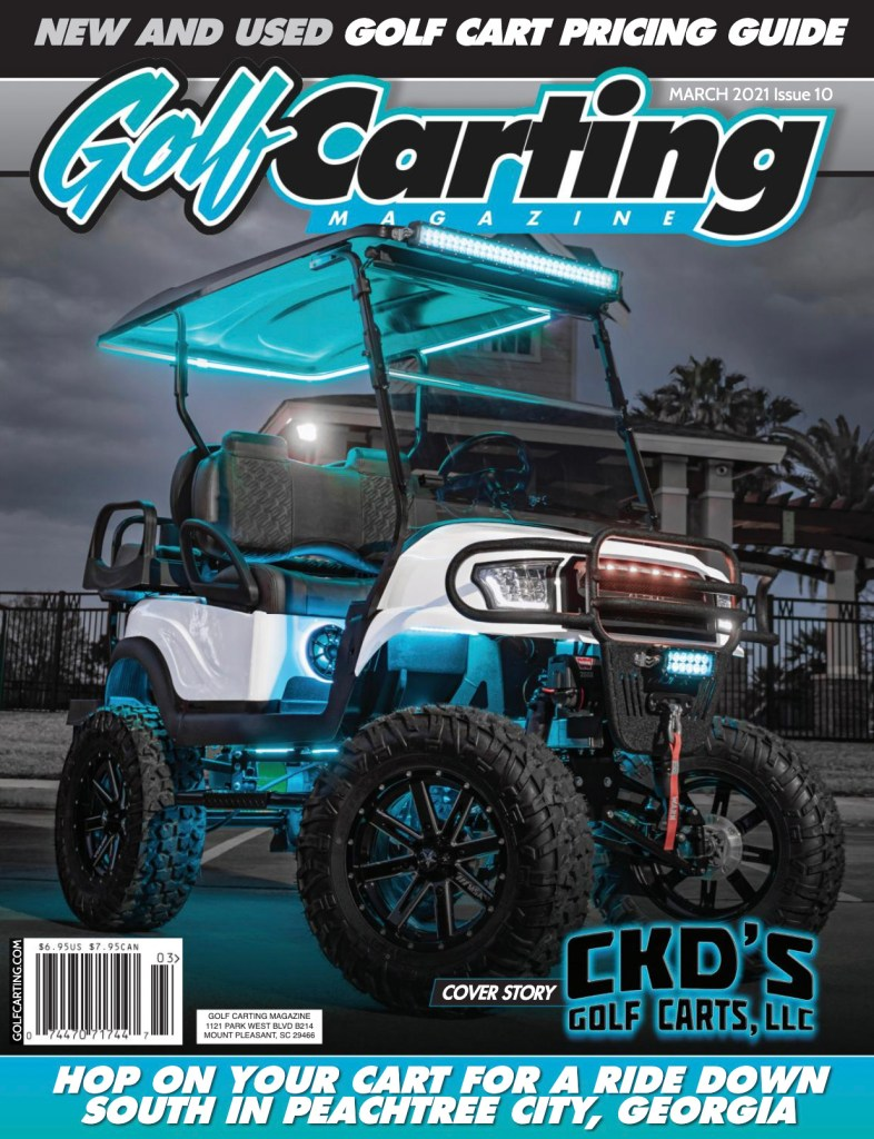 Golf Carting Magazine March 2021