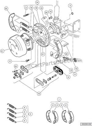 20002005 Carryall 1, 2 & 6 by Club Car  Club Car parts