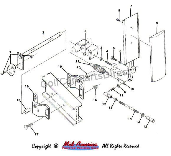 19841991 club car ds gas  golfcartpartsdirect