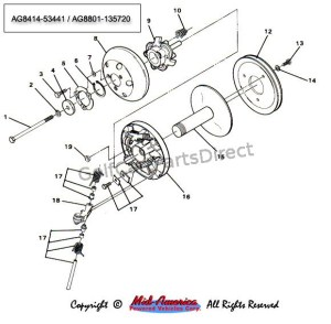 Drive Clutch  Part 1  GolfCartPartsDirect