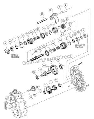 Unintized Transaxle  F&R Transmission Gear Reduction