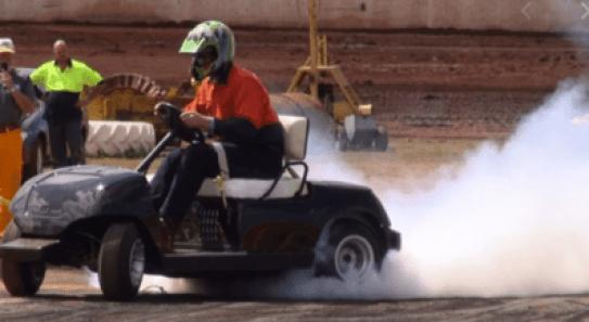 Fast Golf Cart