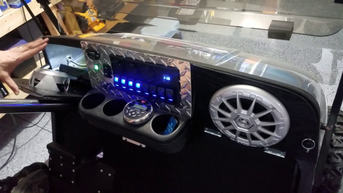 Installing a Golf Cart Stereo