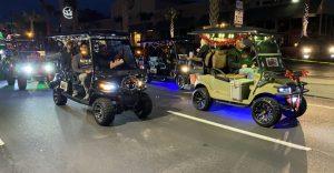 Golf Cart Parade in Charleston, SC