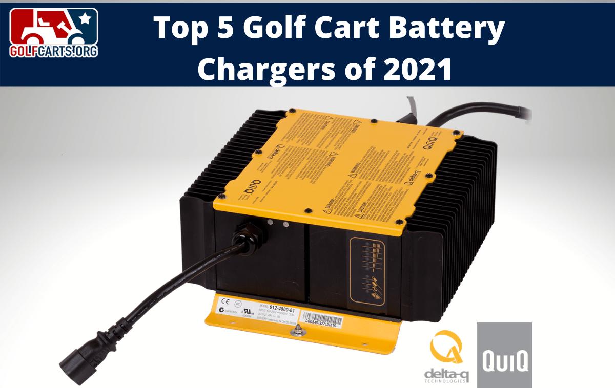 Best Golf Cart Battery Chargers