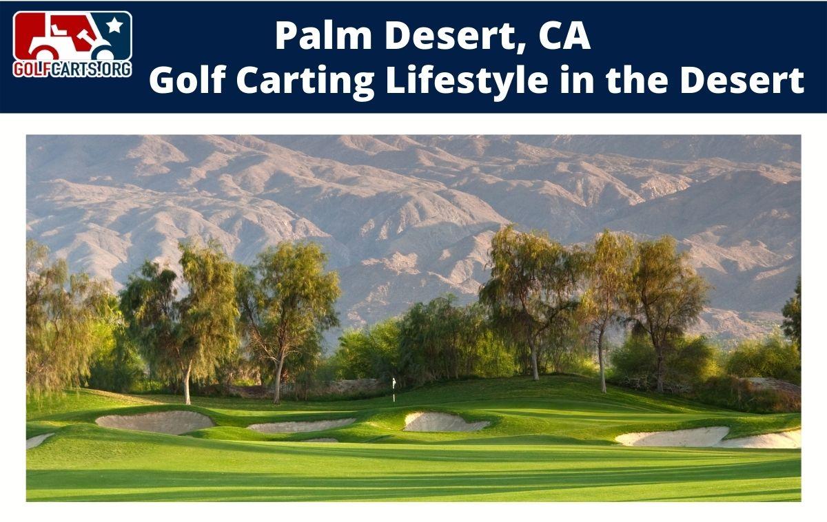 Palm Desert Golf Carting
