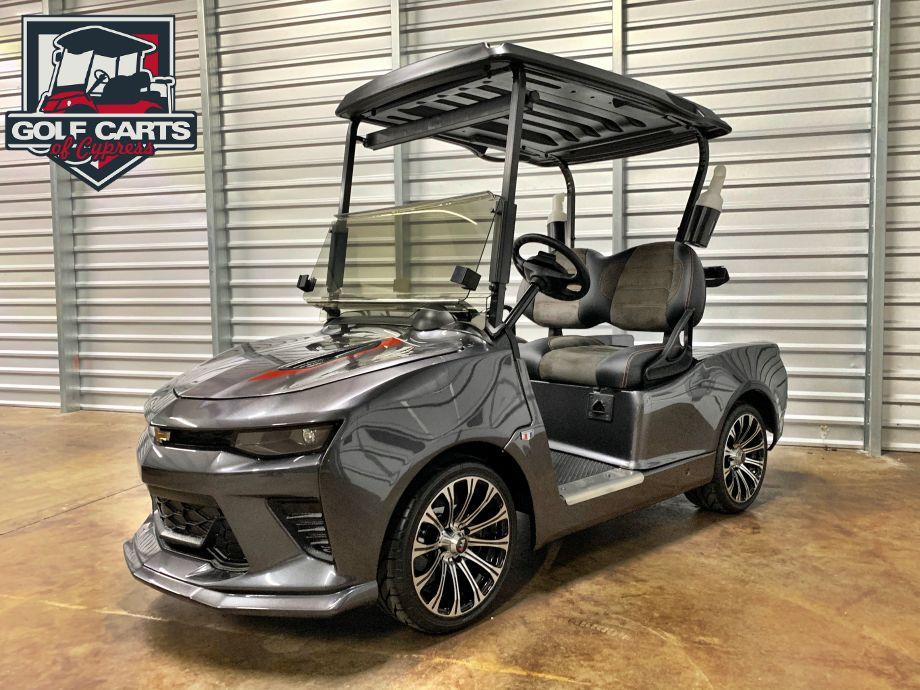 50th Anniversary Chevy Camaro Golf Cart