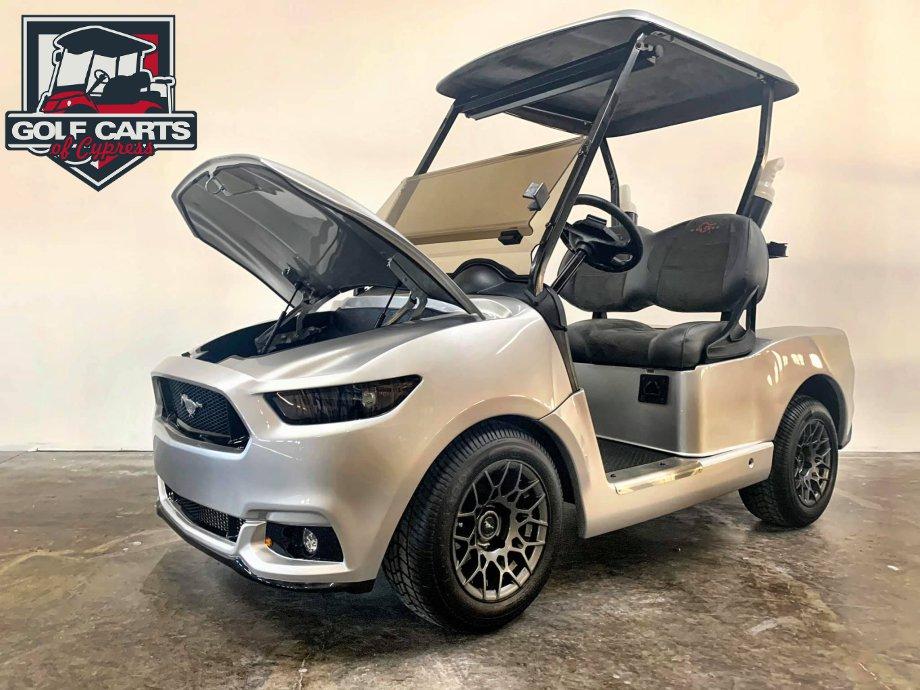 Ford Mustang GT Custom Golf Cart