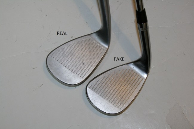 Counterfeit Titleist Vokey Spin Milled 2009 Wedge