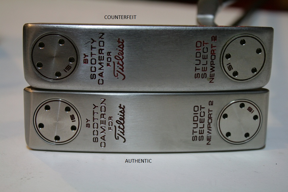 Counterfeit Scotty Cameron Studio Select Newport 2 Putter