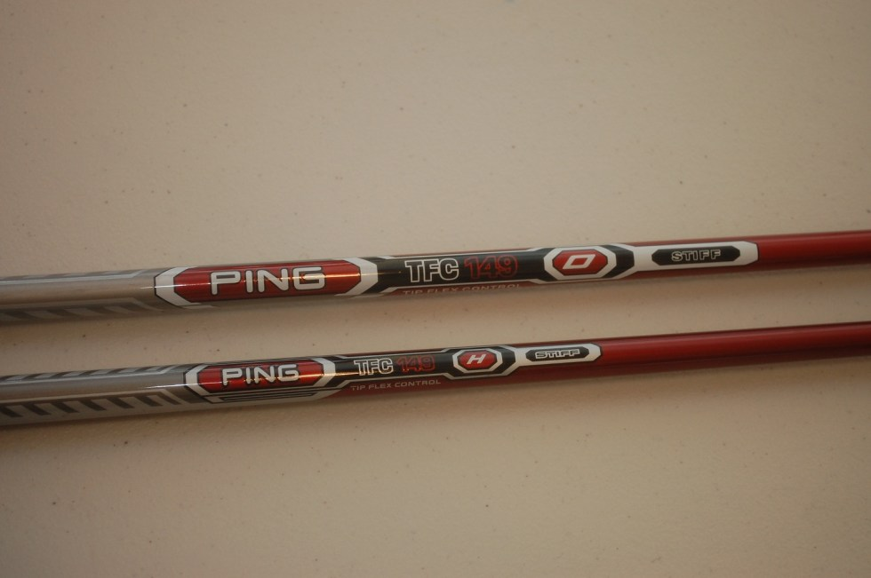 Counterfeit Ping G15 Graphite Shaft