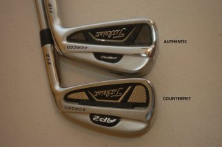 Counterfeit Titleist AP2 712 Cavity