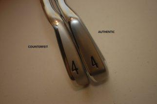 Counterfeit Titleist AP2 712 Sole