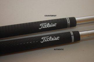 Counterfeit Titleist Grip