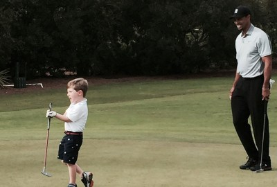 maxresdefault 8 - Tiger Woods gets inspirational golfing lesson from 3-year-old