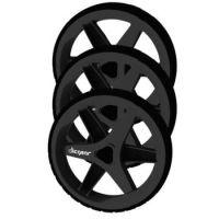 3.5+ Trolley Wheel Kit - Black
