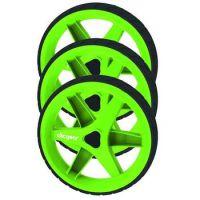 3.5+ Trolley Wheel Kit - Lime