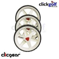 3.5+ Trolley Wheel Kit - White