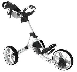 ClicGear Cart Golf Trolley 3.5+ White