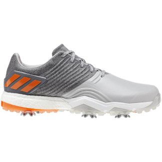 ADIDAS 2018 Adipower 4 Golf Shoes - Grey/Orange