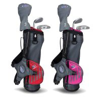 US Kids Golf 3 Club Stand Bag Junior Golf Set 39'' - Age 4