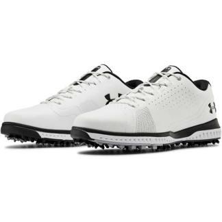 Under Armour Fade RST 3 E Golf Shoes - White/Black