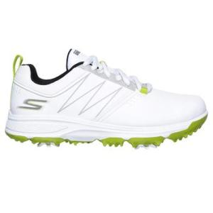 Skechers Boy's Blaster Golf Shoes - White/Lime