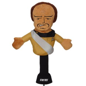 Novelty Licensed Driver Headcover - Klingon