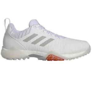 Adidas Code Chaos Golf Shoes - Cloud White/Grey/Light Grey