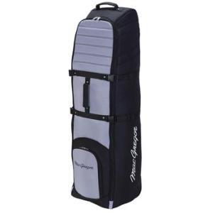 MacGregor VIP II Premium Wheeled Travel Cover - Black/Silver