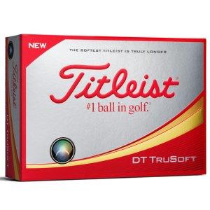 Titleist 2018 DT Trusoft White Golf Balls - Doz