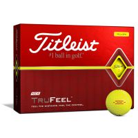 Titleist TruFeel Golf Balls - Yellow