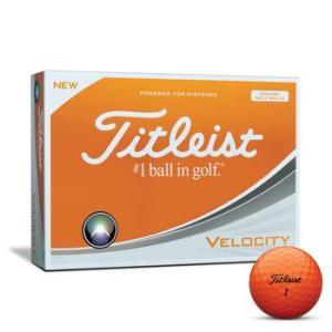 Titleist Velocity Golf Balls Orange
