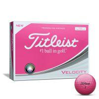 Titleist Velocity Golf Balls - Pink
