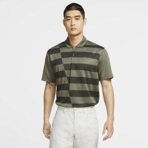 Nike Dri-FIT-golfpolo med grafik til mænd - Olive
