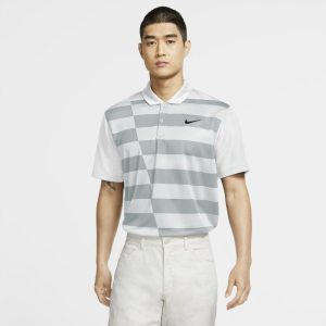 Nike Dri-FIT-golfpolo med grafik til mænd - White
