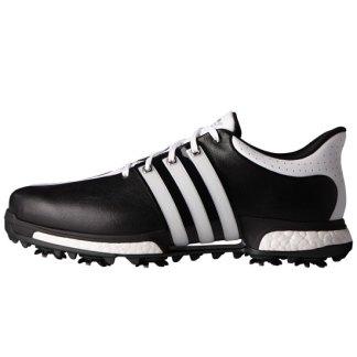 ADIDAS 2017 Tour 360 Boost Golf Shoes - Core Black/White/Core Black