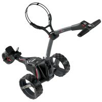 Motocaddy M1 DHC Graphite Electric Golf Trolley 2020 - Extended Lithium