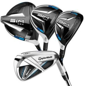 TaylorMade SIM Max Men's Senior Golf Package Set
