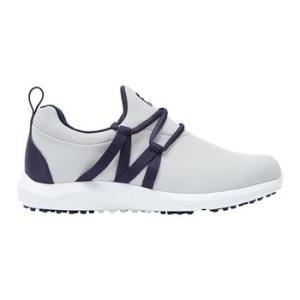 FootJoy Ladies FJ Leisure Slip On Golf Shoes - Grey/Navy