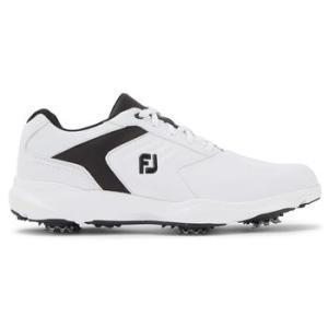 FootJoy Men's Ecomfort 2020 Golf Shoes - White/Black